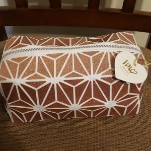 Imoshion Rose Gold Travel/Cosmetic Bag